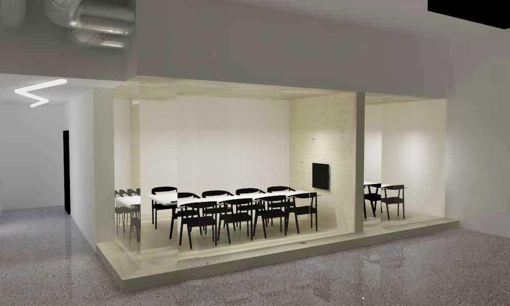 vizualizácia kancelárske priestory – everlution