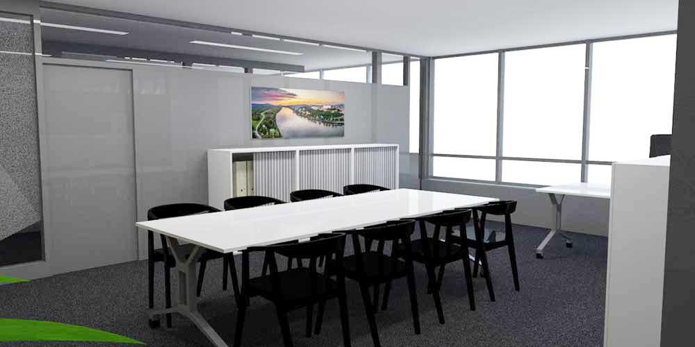 vizualizácia kancelárske priestory – RPC