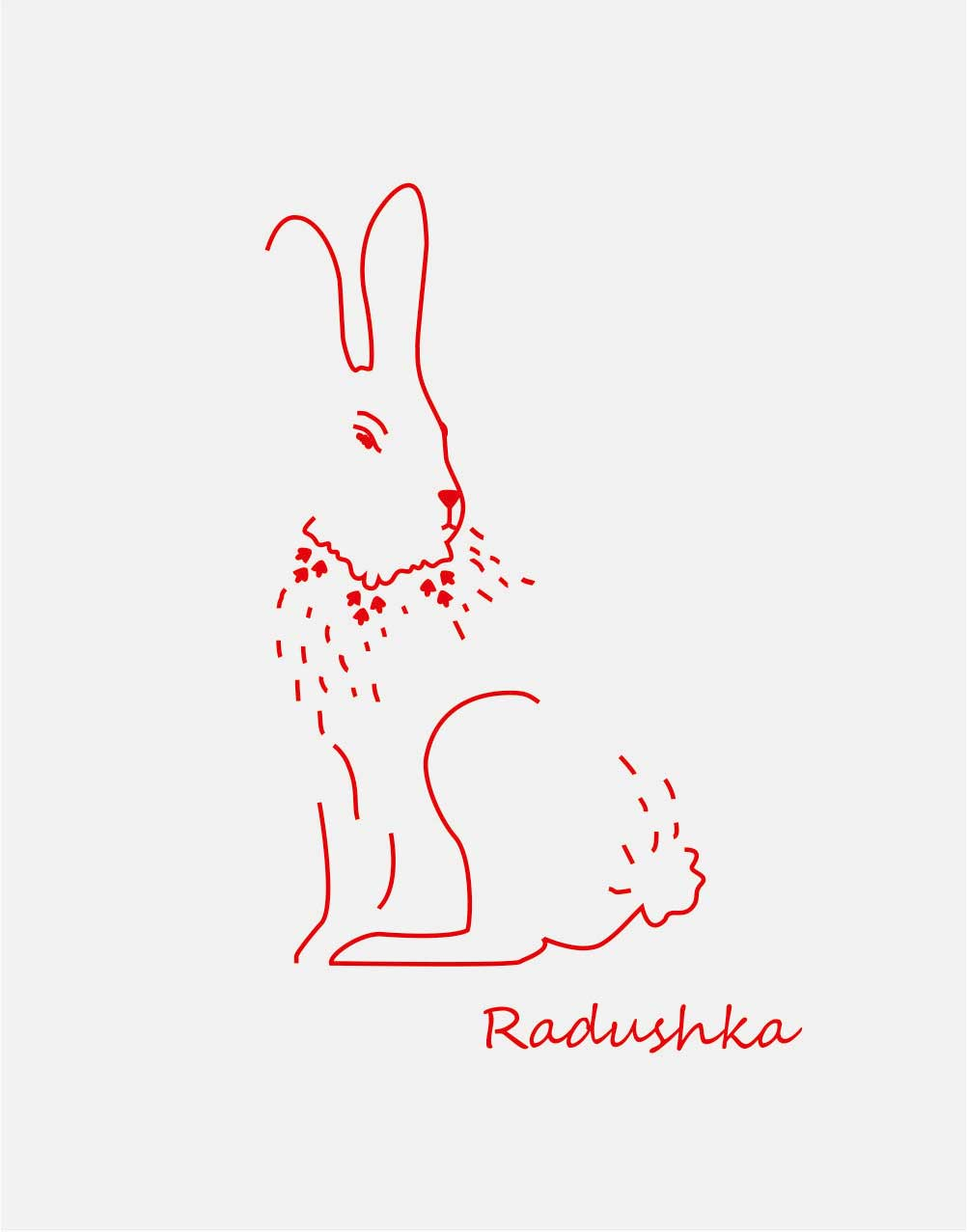 "logo design pre ""radushka"""