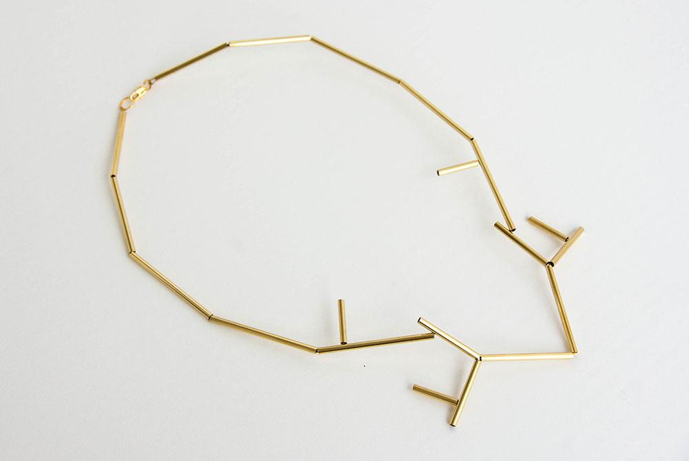 kolekcia šperkov Zhmotnená modrotlač